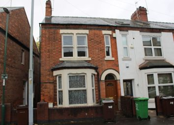 Thumbnail 3 bed end terrace house to rent in Grove Road, Nottingham, Nottinghamshire