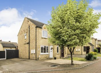 Thumbnail 2 bed semi-detached house for sale in Beverley Close, Normanton