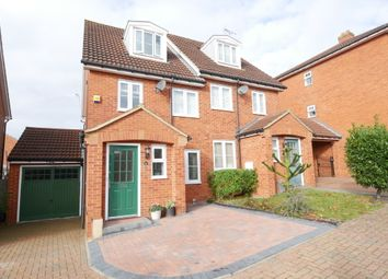 Thumbnail 3 bed semi-detached house for sale in Great Ashby Way, Stevenage