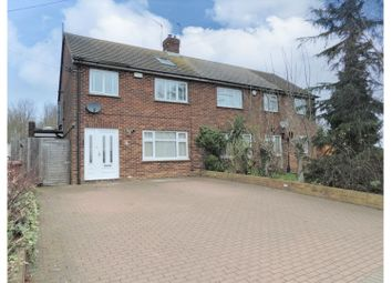 Thumbnail 4 bed semi-detached house for sale in Fenn Street, Rochester