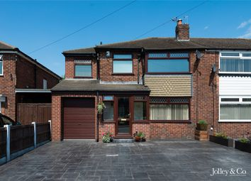 Thumbnail 4 bed semi-detached house for sale in 4 Alderley Close, Hazel Grove, Stockport, Cheshire