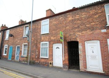 Thumbnail 2 bed terraced house for sale in Burton Road, Uphill, Lincoln