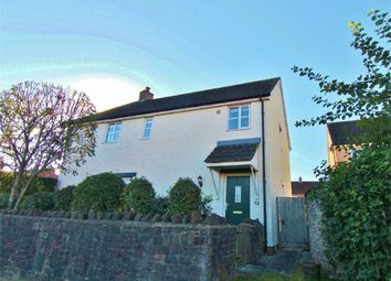Thumbnail 3 bed semi-detached house for sale in Cedern Avenue, Elborough, Weston-Super-Mare