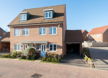 Thumbnail 3 bed property for sale in Elliot Way, Sholden, Deal