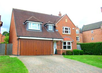 Thumbnail 4 bed detached house for sale in Baslow Drive, Allestree, Derby