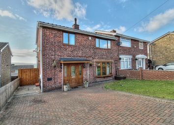 Thumbnail 4 bed semi-detached house for sale in Borrowdale Gardens, Low Fell, Gateshead