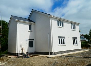 Thumbnail 2 bed flat for sale in Heol Y Cwm, Cross Inn, Nr New Quay