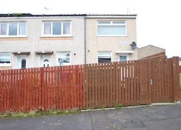 Thumbnail 2 bedroom end terrace house for sale in Cambus Place, Craigend, Glasgow, Lanarkshire