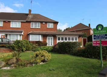 Thumbnail 3 bedroom semi-detached house for sale in Westover Road, Handsworth, Birmingham