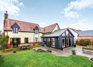 Thumbnail 4 bed detached house for sale in Crawley End, Chrishall, Royston, Hertfordshire