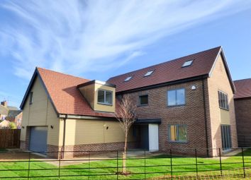 Thumbnail 5 bed detached house for sale in Riverside, Deeping Gate, Peterborough
