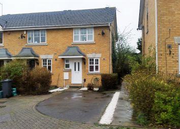 Thumbnail 2 bed end terrace house for sale in Nine Elms Close, Feltham