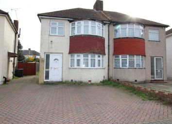 Thumbnail 3 bed semi-detached house to rent in Colyer Road, Northfleet, Gravesend, Kent