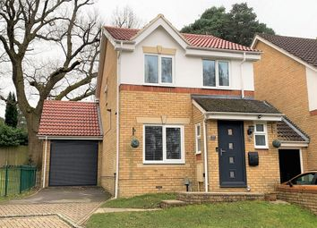 Thumbnail 3 bed link-detached house for sale in Heathside Park, Camberley, Surrey