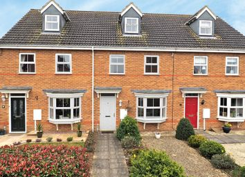 Thumbnail 3 bed terraced house to rent in Tudors Close, Calvert, Buckingham