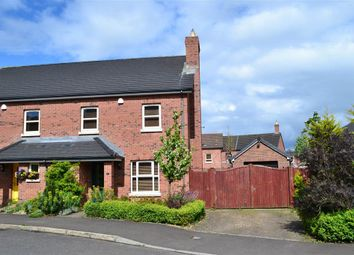 Thumbnail 3 bedroom semi-detached house for sale in 8, Lady Wallace Gardens, Lisburn