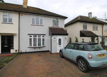 Thumbnail 3 bedroom semi-detached house to rent in Broomfield Avenue, Leigh-On-Sea, Essex.