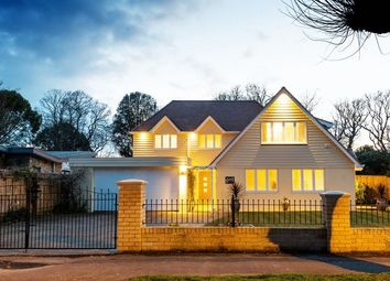 Thumbnail 5 bed detached house for sale in Friars Road, Friars Cliff, Mudeford, Christchurch