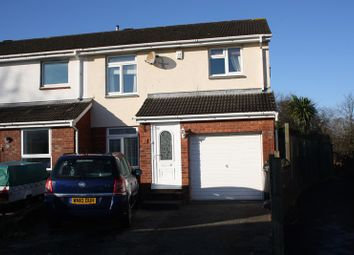 Thumbnail 4 bed end terrace house for sale in Abbots Close, Worle, Weston-Super-Mare