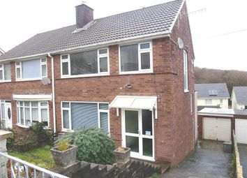 Thumbnail 3 bed semi-detached house for sale in Cwmgelli Close, Treboeth, Morriston