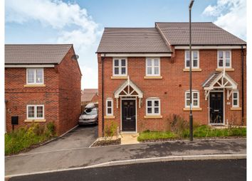 Thumbnail 2 bed semi-detached house for sale in Mill Farm, Repton, Derby