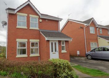 Thumbnail 3 bed detached house to rent in Norley Close, Warrington