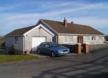 Thumbnail 4 bed detached bungalow for sale in Cynwyl Elfed, Carmarthenshire