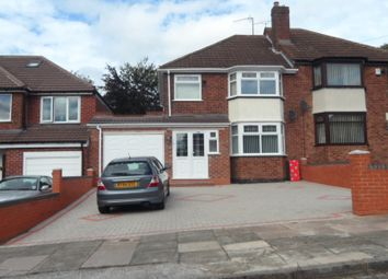 Thumbnail 3 bed semi-detached house for sale in Medcroft Avenue, Handsworth Wood, Birmingham