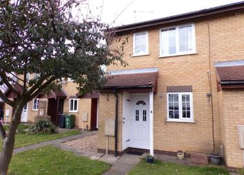 Thumbnail 2 bed terraced house for sale in Covert Close, Syston, Leicester, Leicestershire