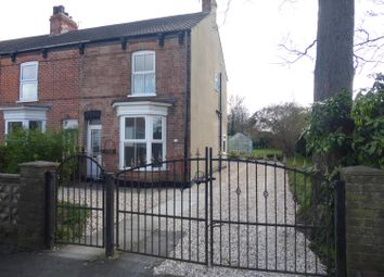 Thumbnail 3 bed end terrace house for sale in Station Road, Healing, Grimsby