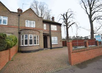Thumbnail 3 bed semi-detached house to rent in Old Bedford Road, Luton