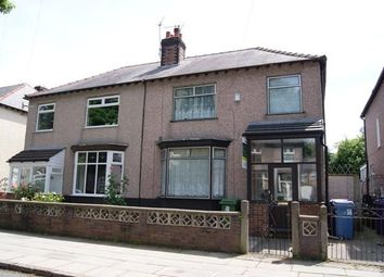 Thumbnail 3 bed semi-detached house to rent in Lovelace Road, Aigburth, Liverpool