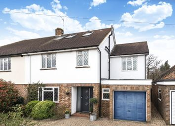 Thumbnail 5 bed semi-detached house for sale in Grove Way, Esher