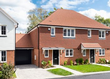 Thumbnail 2 bed semi-detached house for sale in Vere Meadows, Benenden, Kent