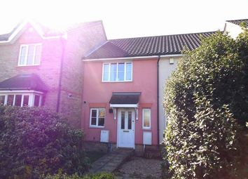 Thumbnail 2 bedroom terraced house to rent in Marbled White Drive, Ipswich, Suffolk