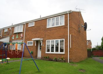 Thumbnail 3 bed end terrace house to rent in Aldridge Court, Ushaw Moor, Durham