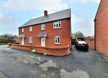 Thumbnail 3 bed semi-detached house for sale in Plating Way, Roade, Northampton