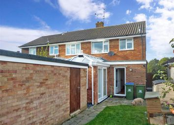 Thumbnail 3 bed semi-detached house for sale in Rowlands Road, Horsham, West Sussex