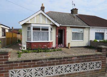 Thumbnail 3 bed semi-detached bungalow for sale in Kirkley Run, Lowestoft