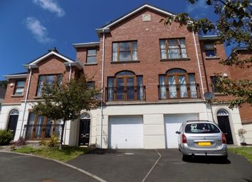 Thumbnail 4 bed town house to rent in Linen Green, Lisburn