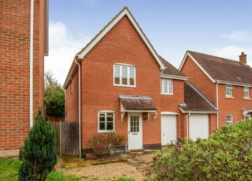 3 bed link-detached house for sale in Hadleigh, Ipswich, Suffolk IP7