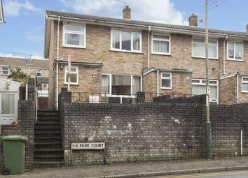 Thumbnail 3 bed terraced house for sale in Park Court, Cwmcarn, Cross Keys, Newport