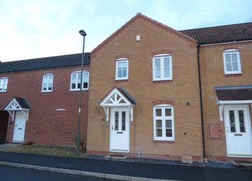 Thumbnail 3 bedroom terraced house to rent in Railway Walk, Bromsgrove