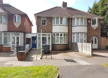 Thumbnail 4 bed semi-detached house to rent in Glendower Road, Perry Barr, Birmingham