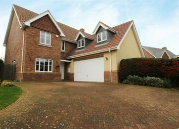 Thumbnail 5 bed detached house for sale in Hammarsfield Close, Standon, Ware