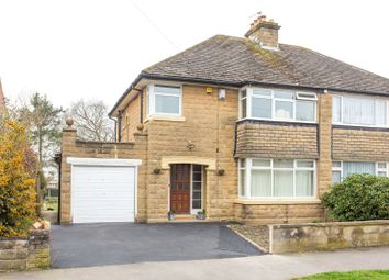 Thumbnail 3 bed semi-detached house for sale in Whinmoor Crescent, Leeds, West Yorkshire