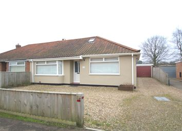 Thumbnail 3 bed bungalow for sale in Gorse Road, Thorpe St Andrew, Norwich