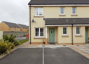 Thumbnail 3 bed semi-detached house for sale in Clos Y Doc, The Links, Llanelli