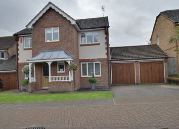 Thumbnail 4 bed detached house for sale in Orchard Drive, Standon, Ware, Hertfordshire