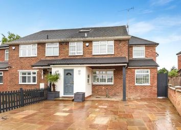 Thumbnail 4 bed semi-detached house for sale in Holland Close, New Barnet